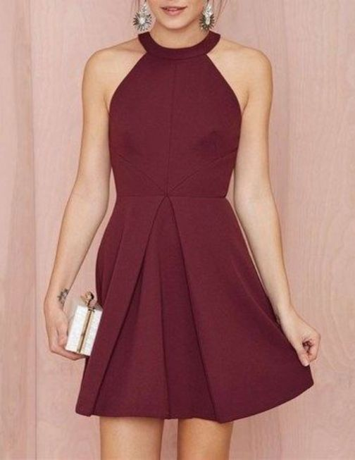 Beautiful Short Chiffon Dresses for Teen Girls