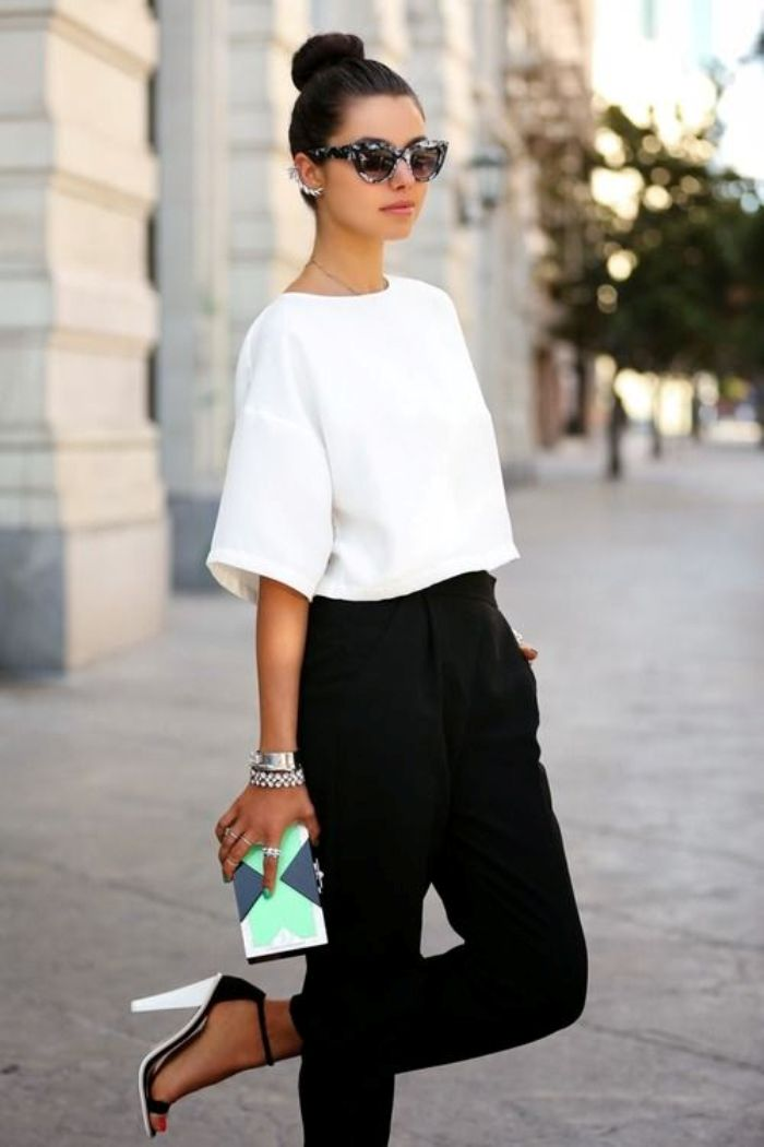 Black and White Styles for Teenage Girls