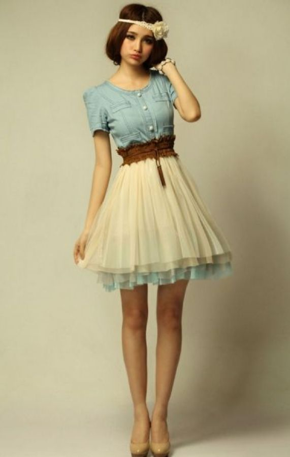 Casual Dress for Teenage Girls