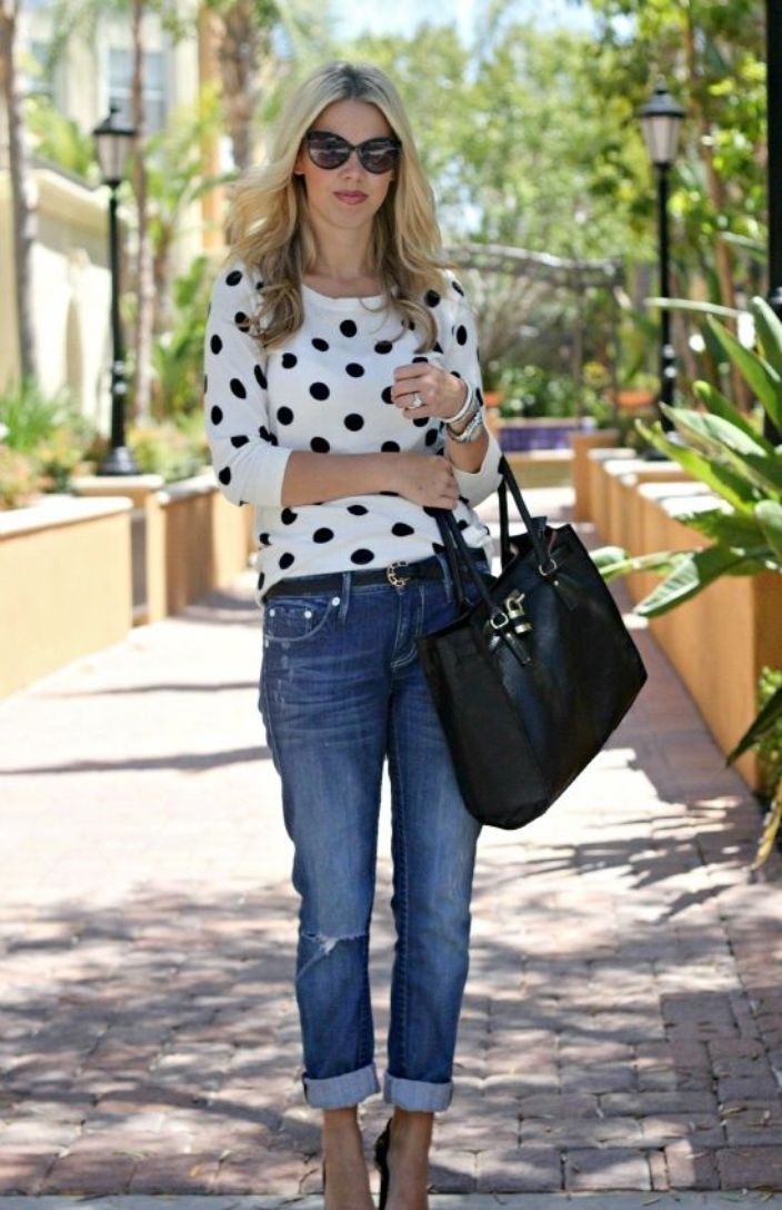 25 Casual Outfits For Women Over 40 - GetFashionIdeas.com - GetFashionIdeas.com