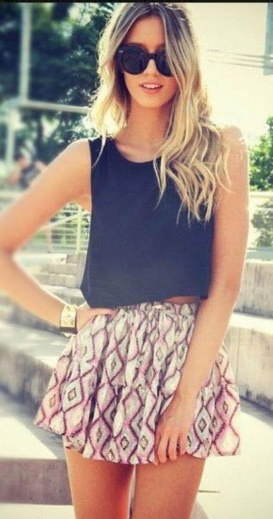Easy Fashion Styles for Teenage Girls