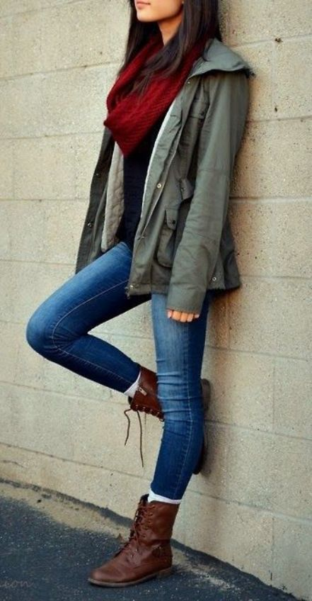 Fall Winter Style for Teenage Girls