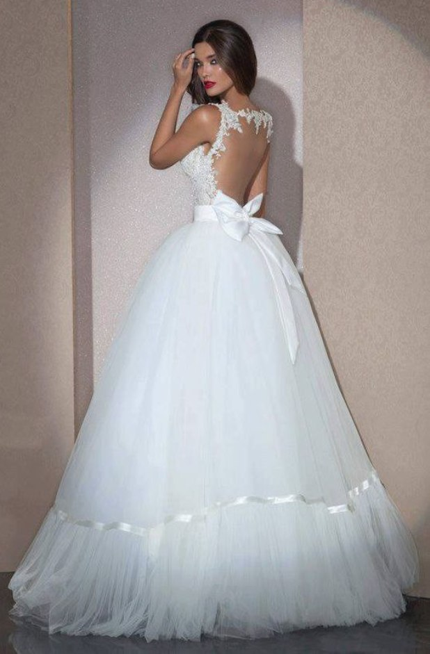 Gorgeous White Wedding Dress