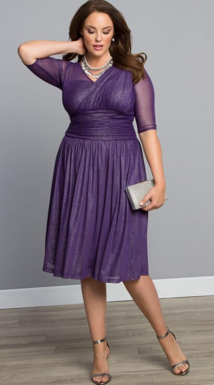 Plus Size Dresses With Sleeves Special Occasions