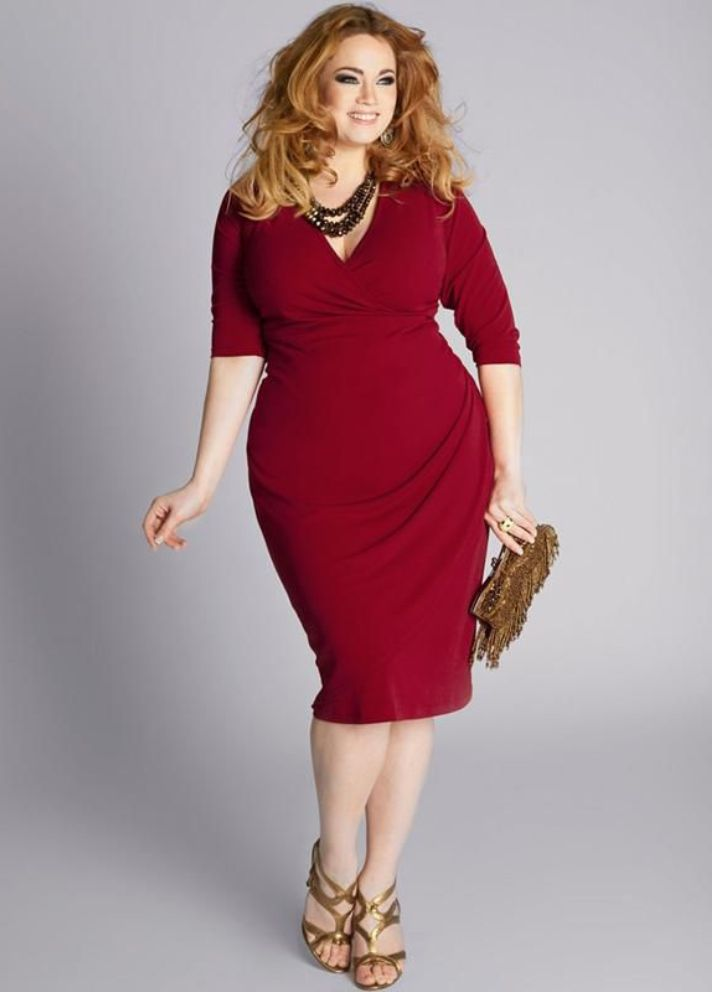 Plus Size Red Dresses for Special Occasions