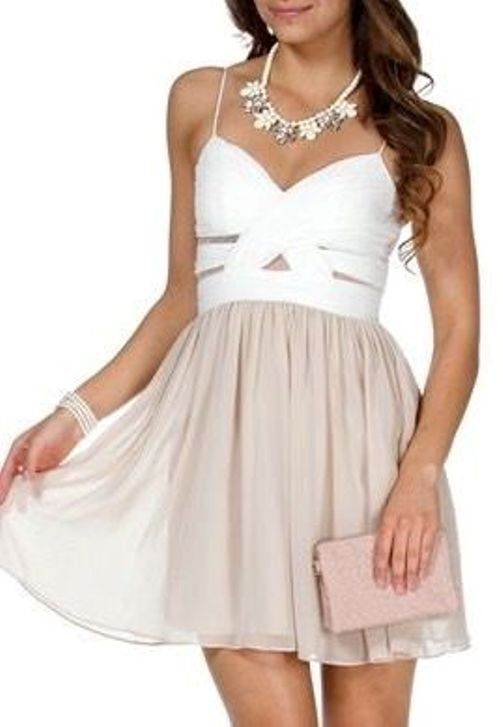 Short Chiffon Dresses Under 100