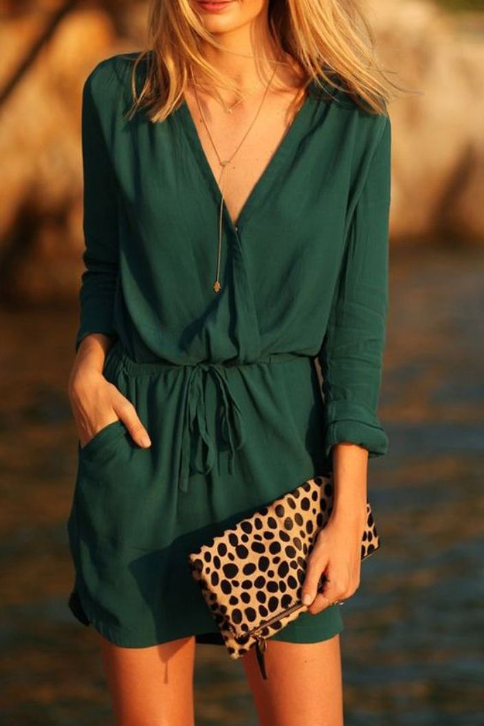Short Chiffon Dresses With Sleeves for Teen Girls