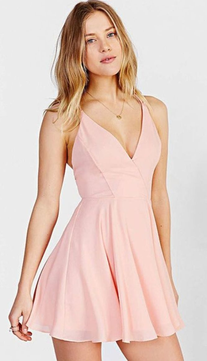 Short Chiffon Homecoming Dresses for Teen Girls