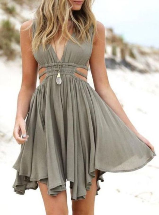 Simple Short Chiffon Dresses for Teen Girls