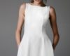 Simple White Graduation Dresses