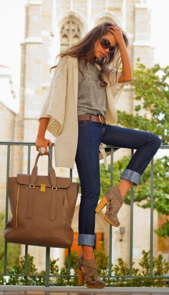Teenage Girls Styles With Jeans