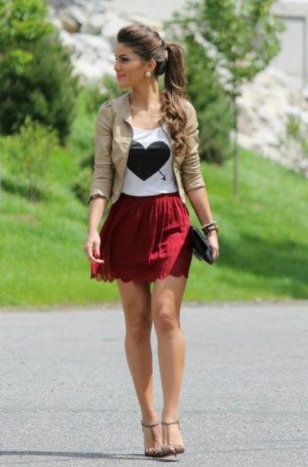 Teenage Girls Styles With Short Skirt Getfashionideas Com