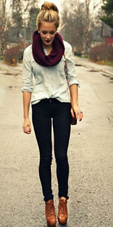 Teenage Girls Styles with Shirt and Jeans