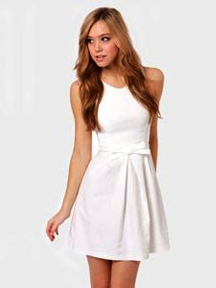 White Graduation Dresses Ideas