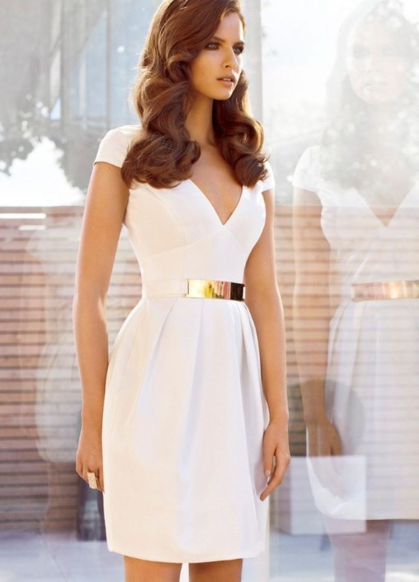 White Graduation Dresses Under $100