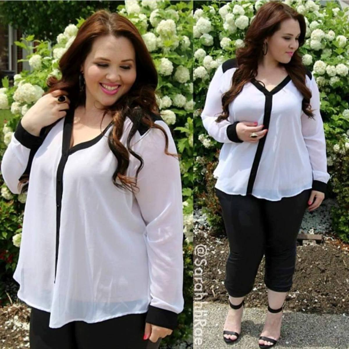 Women's Plus Size Dress Blouses