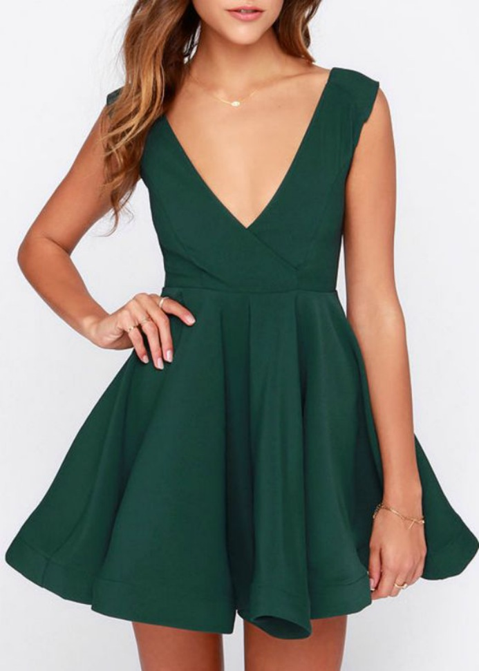 Cute Summer Dresses for Teens Green