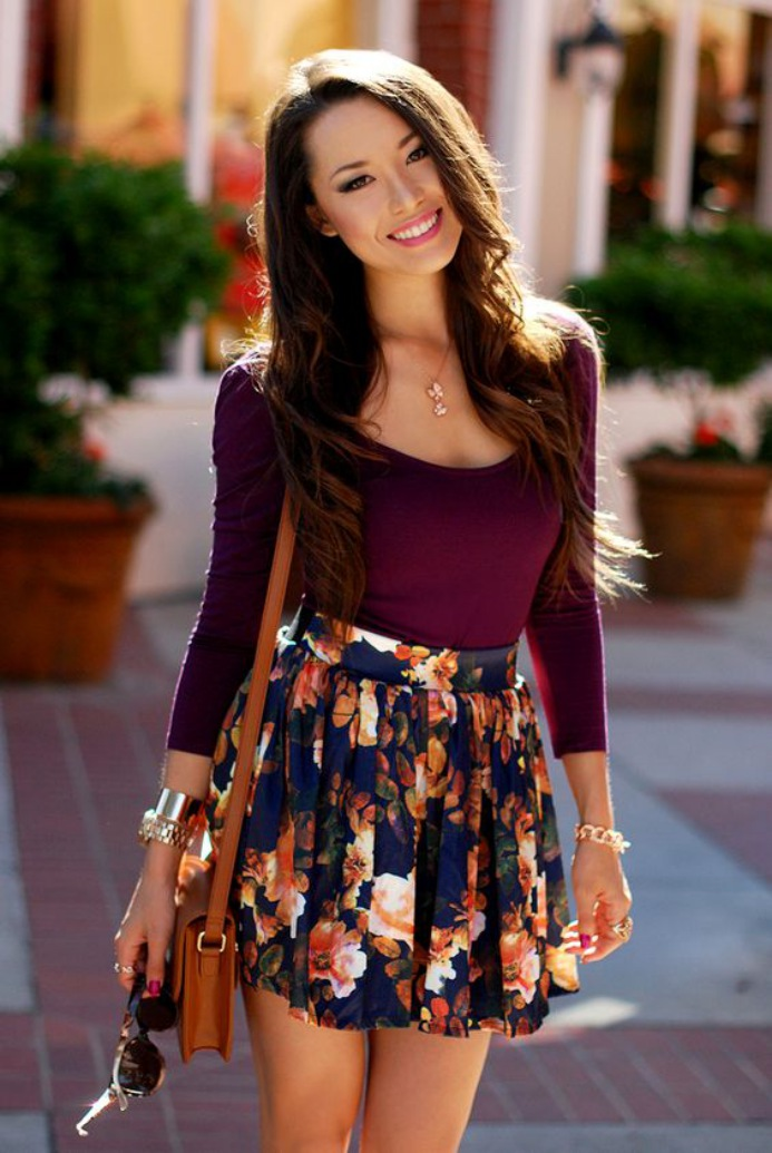 Cute Summer Dresses for Teens Long Sleeve