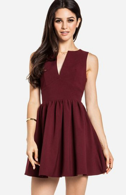 Cute Summer Dresses for Teens Red