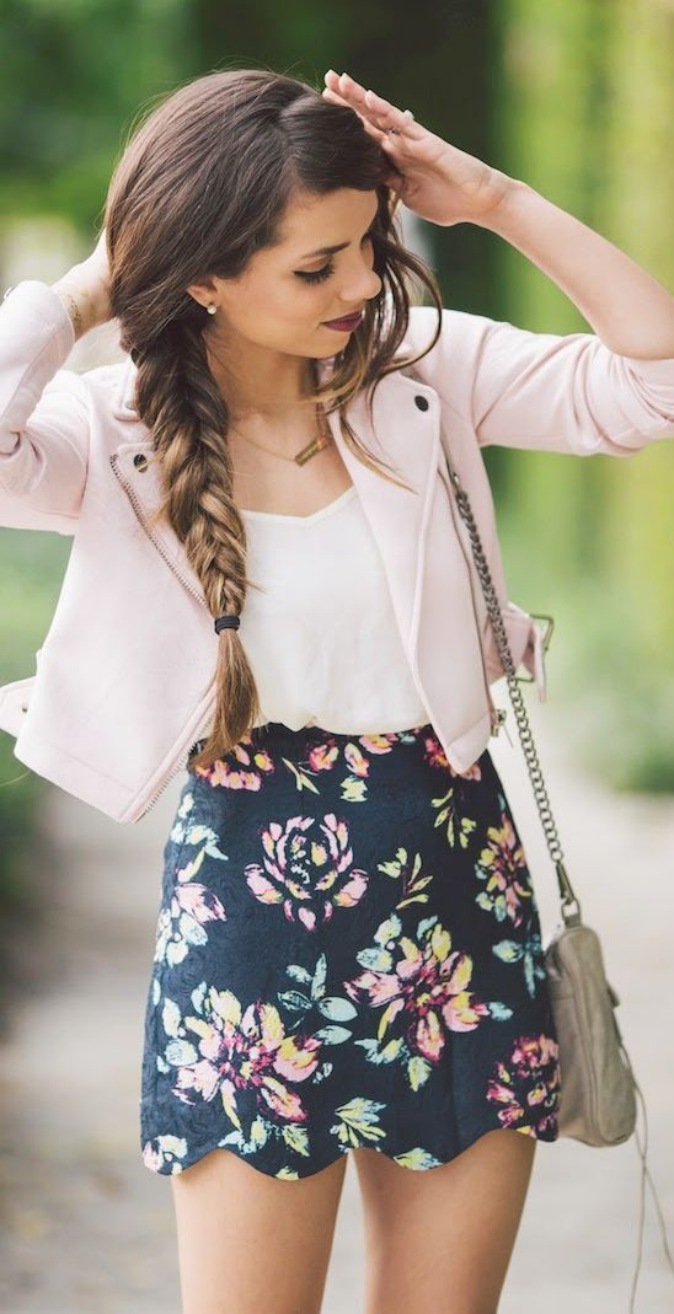 Cute Summer Dresses for Teens With Blazer