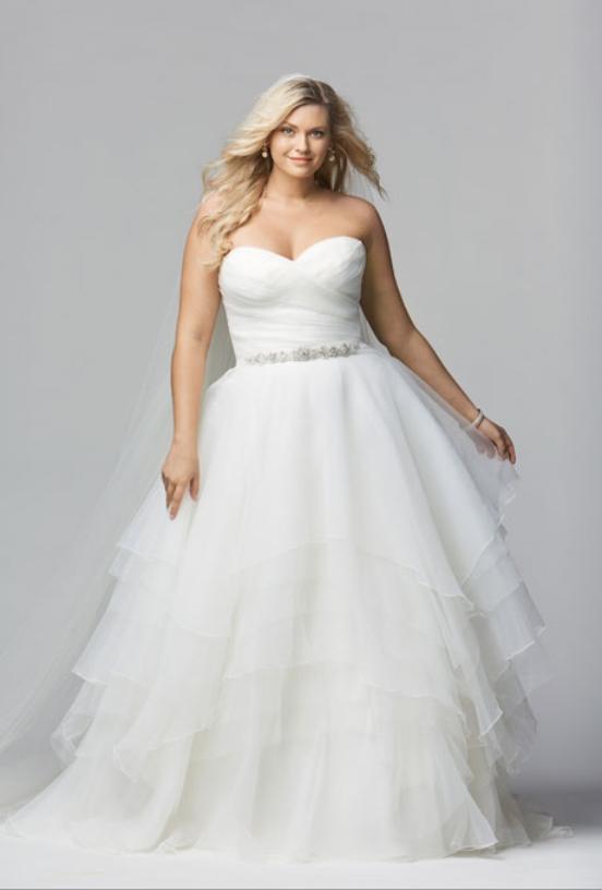 14 cheap wedding dresses under 100 getfashionideascom for Plus size wedding gowns under 100
