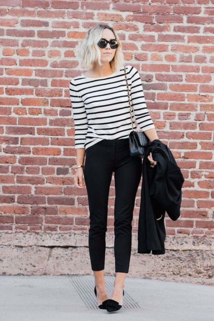 black dress pants in summer for women