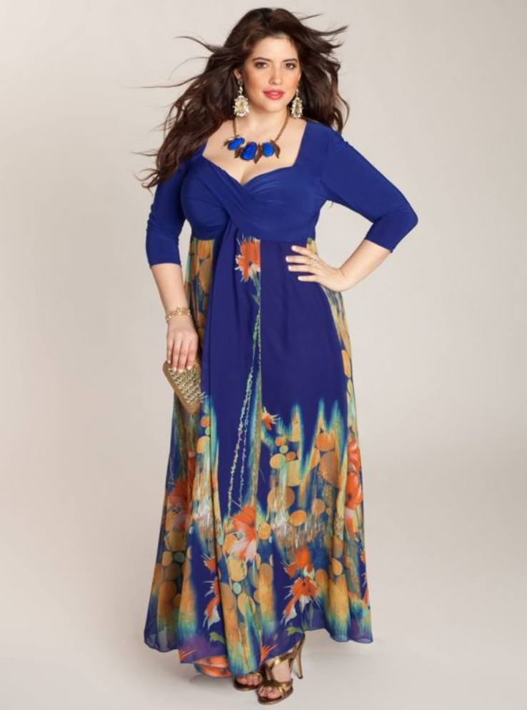 Cheap Plus Size Maxi Dresses