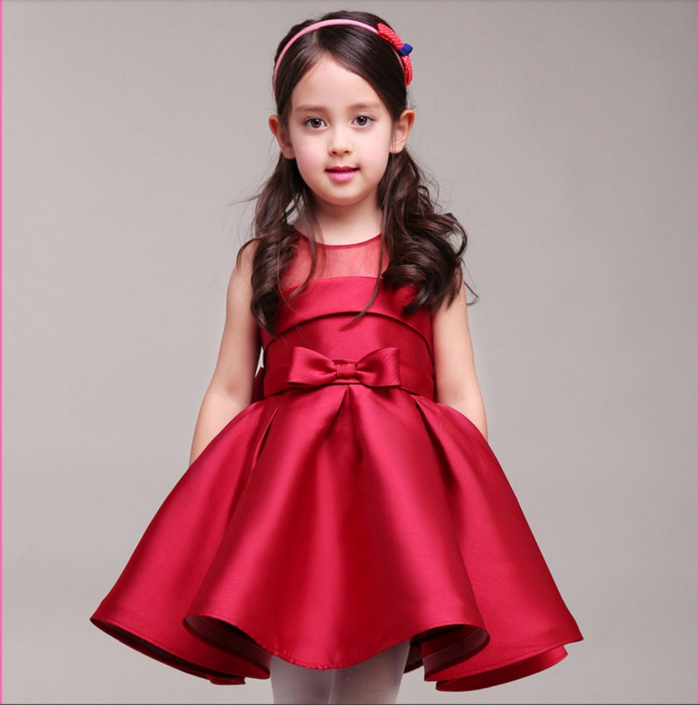 girls red dresses for christmas