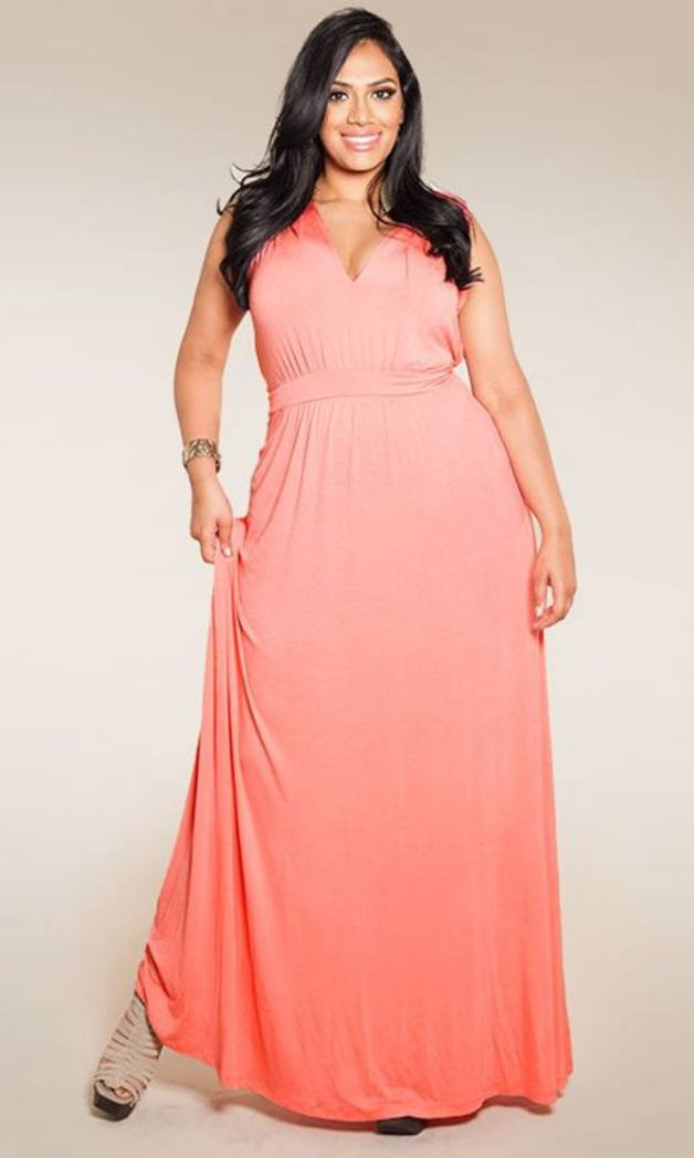 Maxi Dresses Cheap Plus Size