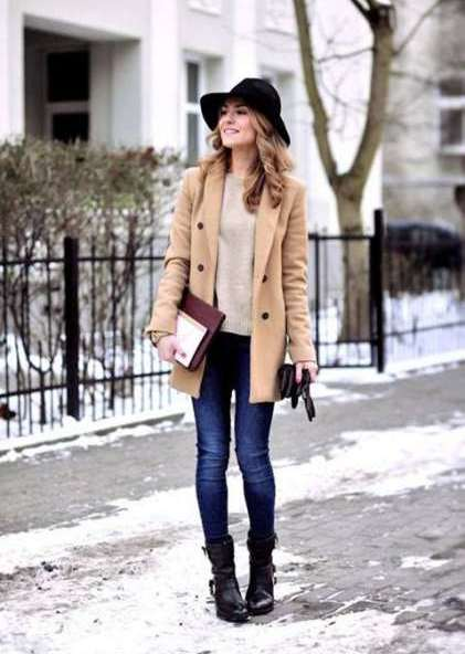 casual winter outfit ideas for women