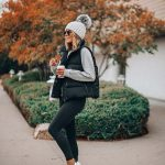 sporty and simple winter outfit ideas for women