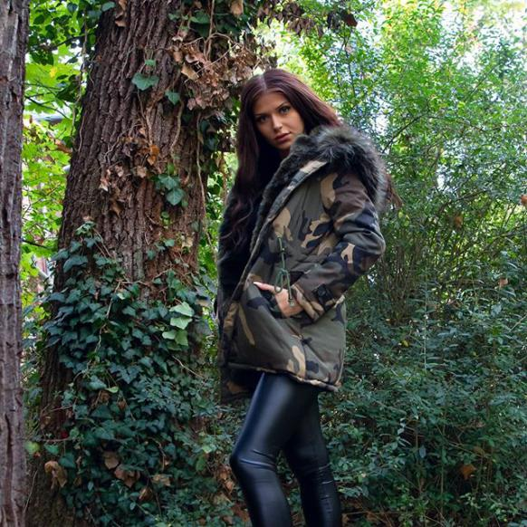 fashionable winter jackets for women army