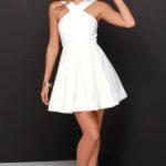 Pretty White Graduation Dresses