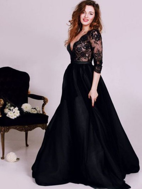 Evening Dress for My Body Type