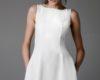 Simple White Graduation Dresses