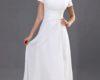 White Graduation Dresses for Seniors