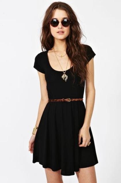 Cute Summer Dresses for Teens Black