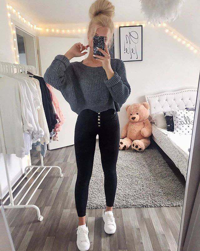new simple winter outfit ideas for young women